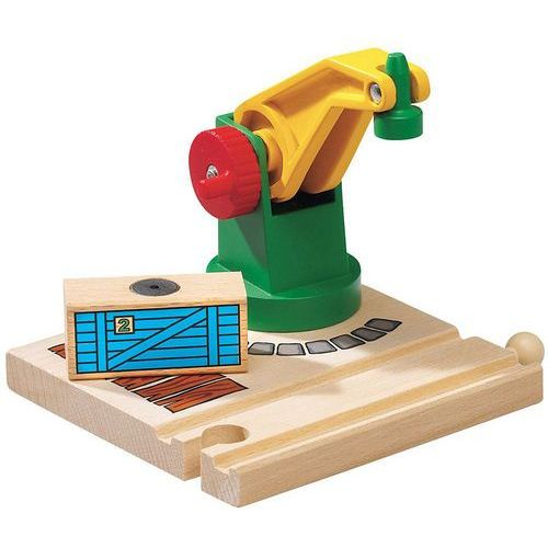 mały dźwig magnetyczny marki Brio