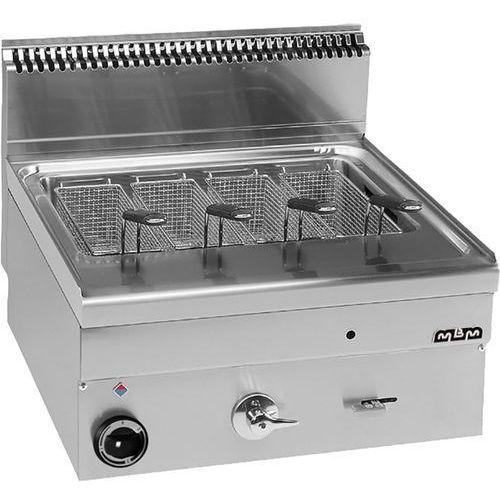Urządzenie do gotowania makaronu i pierogów, gazowe, nastawne, 600x600x270 mm, 30 l | MBM, GC66/SC