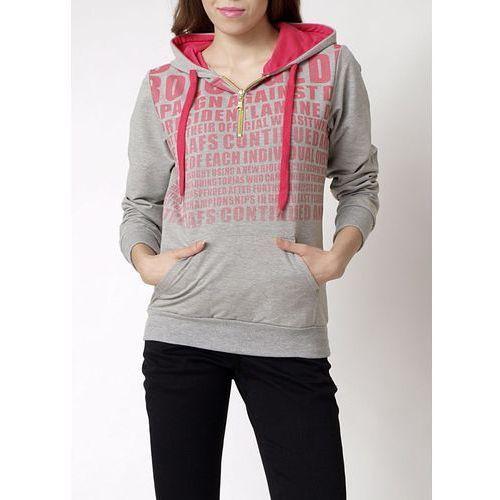 Bluza z kolorowym nadrukiem, kolor wielokolorowy