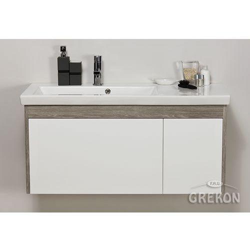 Gante Szafka łazienkowa z umywalką 100/40 seria platum b