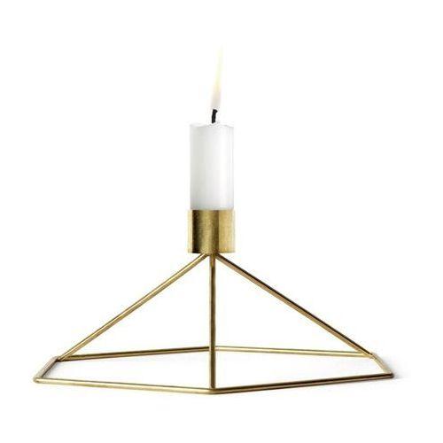 Menu - świecznik stołowy pov - mosiądz