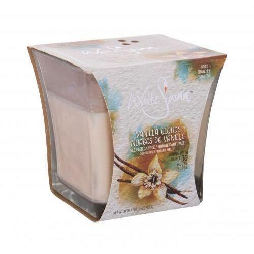 vanilla clouds świeczka zapachowa 283,5 g unisex marki White swan
