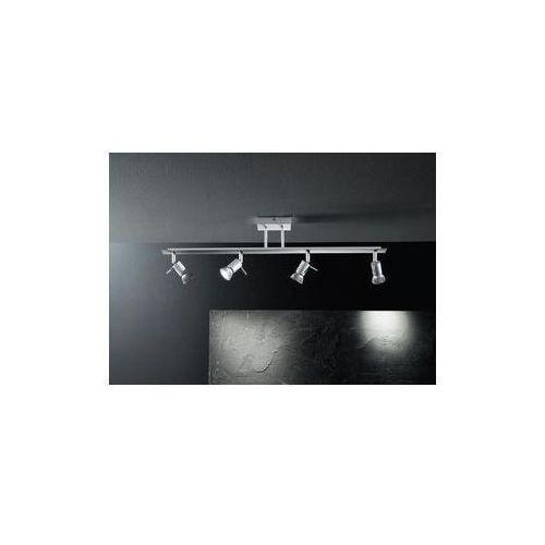 lampa sufitowa SPOTTY szara 4x40W ŻARÓWKI LED GRATIS!, LINEA LIGHT 7349