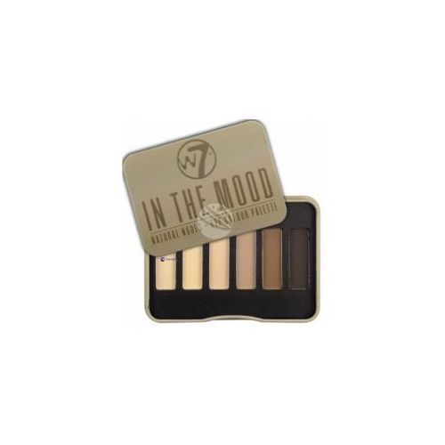 natural nudes eye colour palette (w) paleta 6 cieni do powiek in the mood 7g marki W7