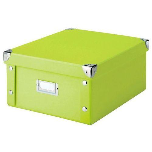 Pudełko do przechowywania, 31x26x14 cm, kolor zielony, ZELLER, B003ESJV00