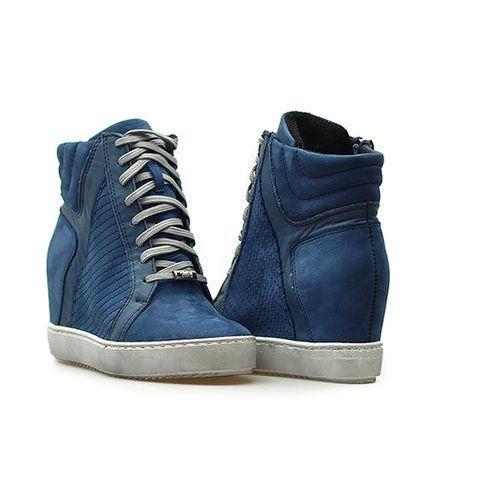 Simen Sneakersy 0417 s1917/sovage 1903 granat lico
