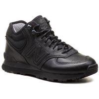 New balance Sneakersy - mh574oac czarny