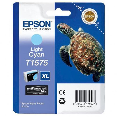 oryginalny ink c13t15754010, light cyan, 25,9ml, epson stylus photo r3000, marki Epson
