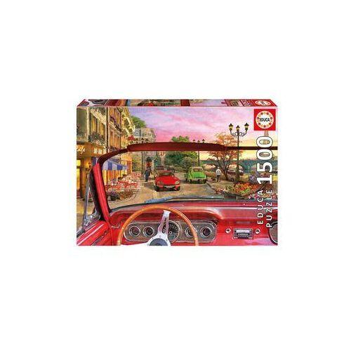Puzzle Paryż zza szyby samochodu 1500 (8412668167681)