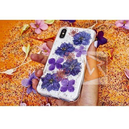 Etui PURO Glam Hippie Chic Cover do iPhone Xs Max (prawdziwe płatki kwiatów czerwone) (8033830266461)