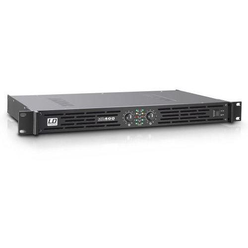 xs 400 końcówka mocy pa klasy d, 2 x 200 w, 4ohm marki Ld systems