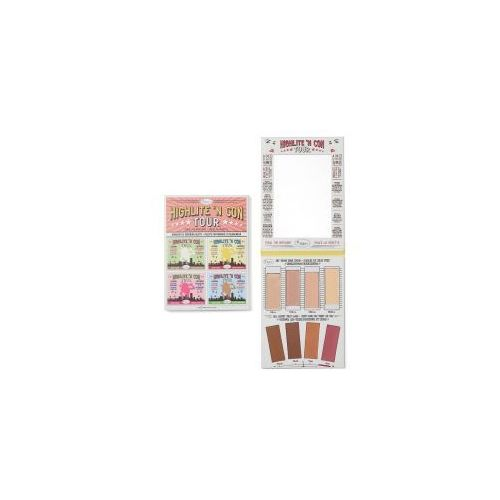 highlite 'n con tour, paleta do konturowania i rozświetlania marki The balm