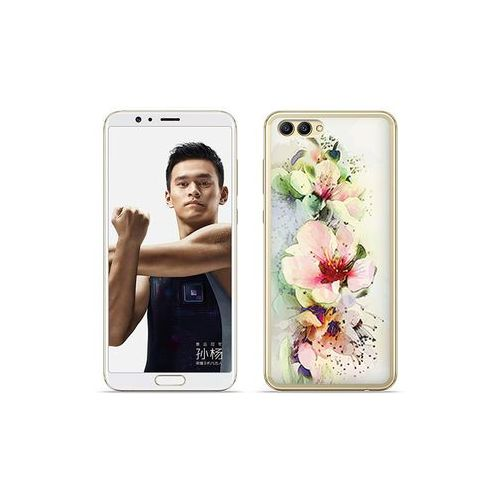 etuo Fantastic Case - Huawei Nova 2S - etui na telefon Fantastic Case - róże herbaciane, kolor różowy