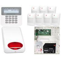 Zestaw alarmowy: płyta główna perfecta 16 + manipulator prf-lcd + 7x czujnik ruchu + akcesoria marki Satel set