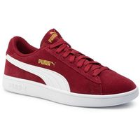 Sneakersy - smash v2 364989 29 rhubarb/puma team gold/white, Puma, 41-46