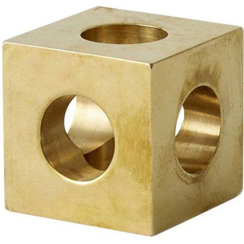 Świecznik cube mosiężny (4762839) marki Menu