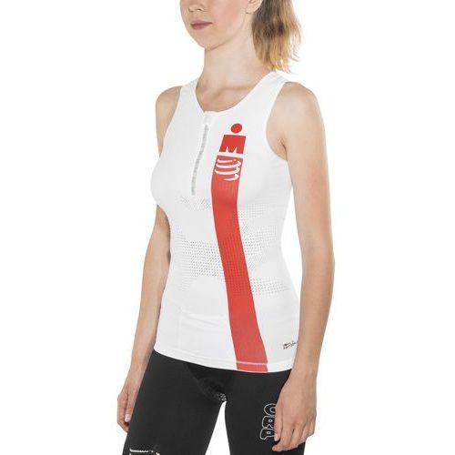 Compressport tr3 kobiety ironman edition biały t2 / m 2017 pianki do pływania (7640170345599)