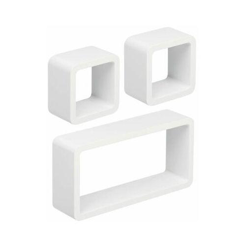 Multim Zestaw 3 półek ściennych stilo biały (5901812111166)