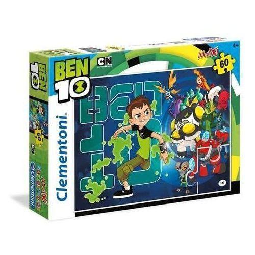 60 elementów MAXI Super Kolor Ben 10
