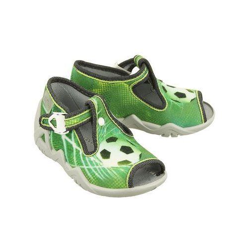 BEFADO 217P 093 zielony, kapcie dziecięce, rozmiary:19-26 - Zielony, kolor zielony