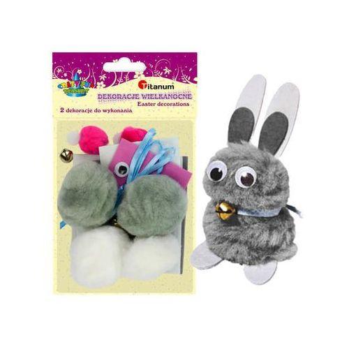 Titanum Zestaw kreatywny królik 2szt samodzielnego wykon - królik (5907437702918)