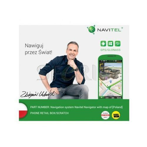 NAVITEL system nawigacyjny na Smartfon i Tablet mapa Polski -licencja 6 m-cy - Navitel PL 6M