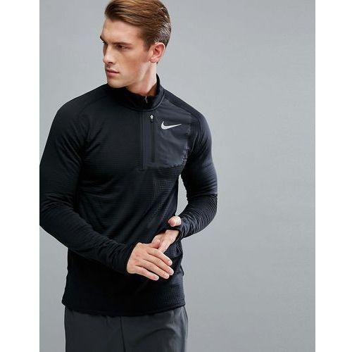 therma sphere element half zip sweat in black 857829-011 - black marki Nike running