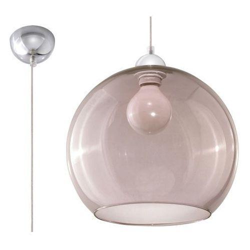 Lampa wisząca BALL grafit SL.0250 - Sollux, kolor Przydymiony