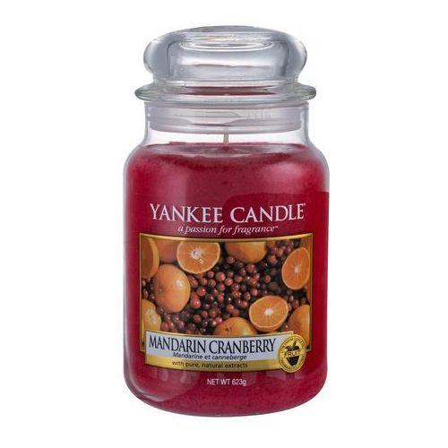 Yankee candle mandarin cranberry 623 g świeczka zapachowa