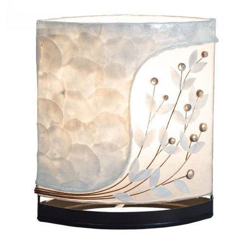 Globo BALI Lampa stołowa Biały, 1-punktowy - Ponadczasowy - Obszar wewnętrzny - BALI - Czas dostawy: od 6-10 dni roboczych (9007371383535)