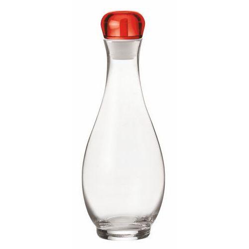 Dozownik na oliwę lub ocet 1000 ml Guzzini Gocce czerwony