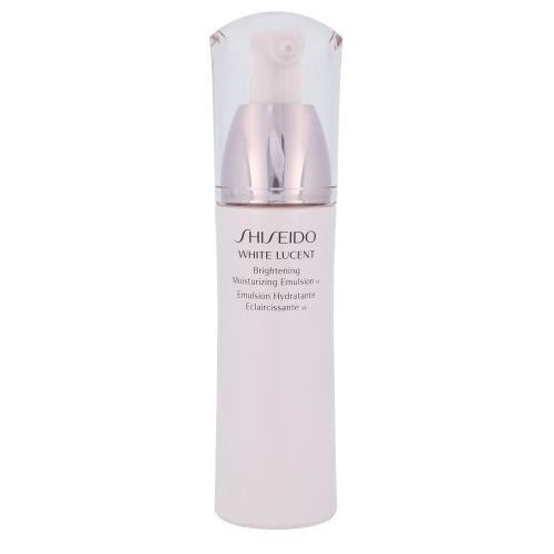 white lucent brightening emulsion 75ml w emulsja do twarzy tester marki Shiseido