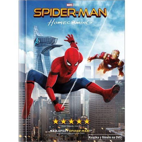 Imperial cinepix Spider-man: homecoming (dvd) + książka