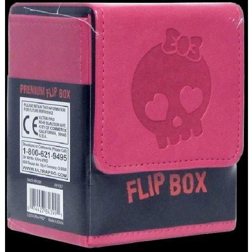 Ultra pro flip box pink skull wyprodukowany przez Brak danych