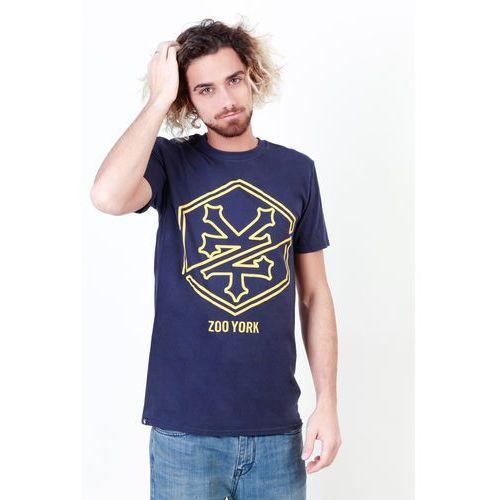 T-shirt koszulka męska ZOO YORK - ZZMTS067-08, ZZMTS067_NAVY-XXL