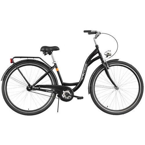 Rower DAWSTAR Retro S1B Czarny + DARMOWY TRANSPORT! + 5 lat gwarancji na ramę! - sprawdź w wybranym sklepie