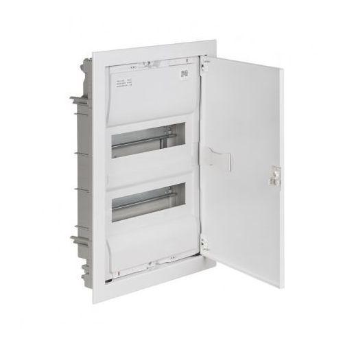MSF RP 2/28 IP30 N+PE drzwi metalowe białe 2002-00 (5907569154289)