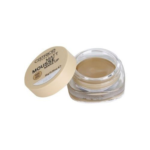 Catrice Matt Mousse 12h podkład matujący w piance 025 Light Beige (Even Finish,Invisible Pores and Lines) 16 g