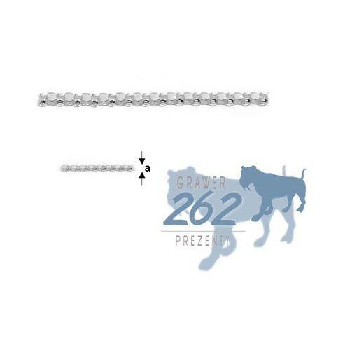 Łańcuszek Coreana3 Srebro 925 45cm 2,5g, lan101,6(11)45