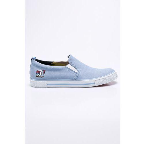 - tenisówki marki Trussardi jeans