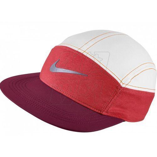 Czapka z daszkiem  zip aw84 running hat w 778371-620 marki Nike