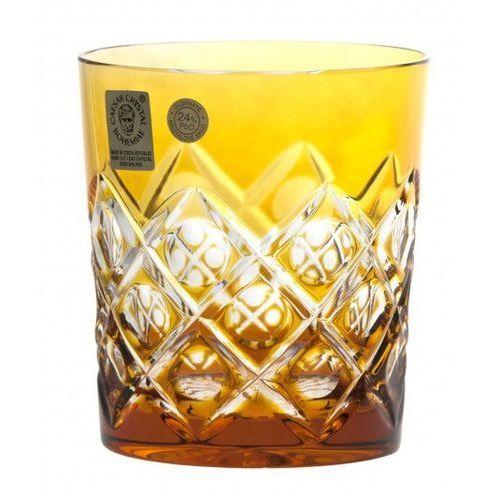 20811 szklanka sułtan, kolor bursztynowy, objętość 290 ml marki Caesar crystal