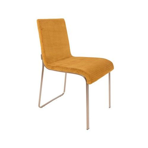 Dutchbone Krzesło Flor żółte - Dutchbone 1100291, 1100291