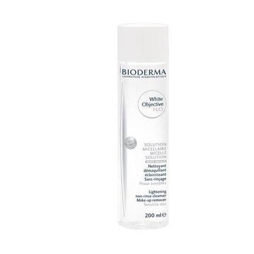 white objective h2o płyn micelarny do demakijażu redukujący przebarwienia 200ml cena marki Bioderma
