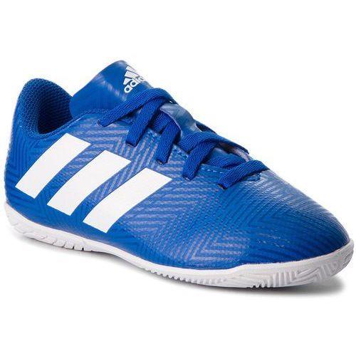 Adidas Buty - nemeziz tango 18.4 in j db2384 fooblu/ftwwht/fooblu