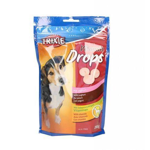 Trixie Dropsy jogurtowe z witaminami dla psa saszetka 200g [31643] (4011905316437)