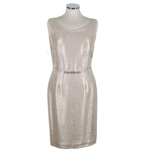 Sukienka 5144 (Kolor: złoty, Rozmiar: 36)