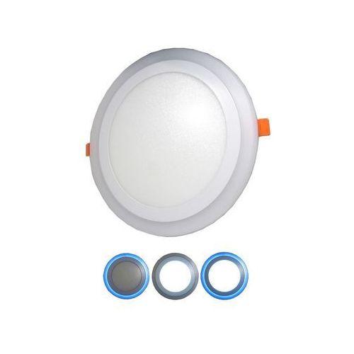 LED Oprawa wpuszczana LED/15W+LED/5W 3000K