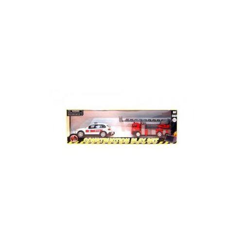 Affluent Town Straż pożarna z rozkłądaną drabiną i karetka - produkt z kategorii- Ambulanse