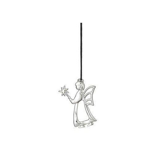 Rosendahl Ozdoba świąteczna anioł z różdżką karen blixen, srebrny -